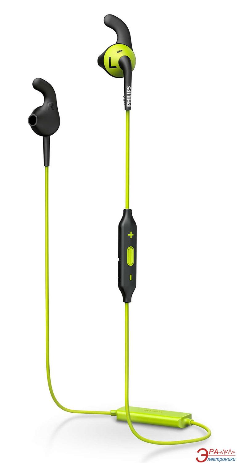 Гарнитура Philips ActionFit SHQ6500CL/00 Carbon lime
