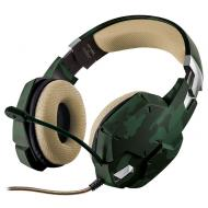 Гарнитура Trust GXT 322C Gaming Headset - green camouflage (20865)