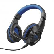 Гарнитура Trust GXT 404B Rana Gaming Headset for PS4 3.5mm BLUE (23309)