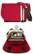 Сумка для ноутбука Crumpler Cheesy Disco firebrick red + white (CHD-009)
