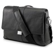 ����� ��� �������� HP Elite Leather Messenger Case black AX676AA