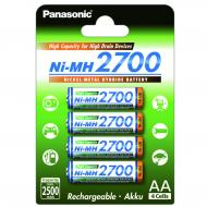 Аккумулятор Panasonic High Capacity AA 2700 mAh 4BP NI-MH (BK-3HGAE/4BE)