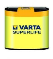 Батарейка VARTA SUPERLIFE 3R12P FOL 1 ZINC-CARBON (02012101301)