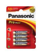 Батарейка Panasonic PRO POWER AAA BLI 4 ALKALINE (LR03XEG/4BP)