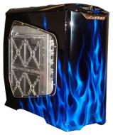 Корпус CoolerMaster CSX Stacker 830 Blue Flame design (CX-830-BLFM-01-GP) Без БП
