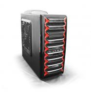 Корпус Logicpower 9905 Black/Red Без БП