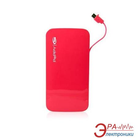 Внешний аккумулятор (PowerBank) Team Power Bank Peppy WP02 5000mAh Red (TWP0250R01)