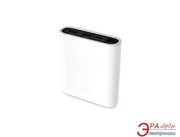 Внешний аккумулятор (PowerBank) Team Power Bank 12800mAh White + 3 color silicone case (TWP0712W01)
