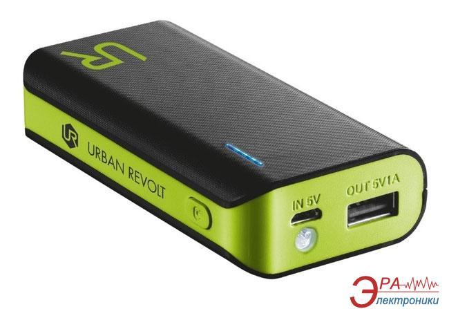 Внешний аккумулятор (PowerBank) Trust URBAN REVOLT Power Bank 4400 Black