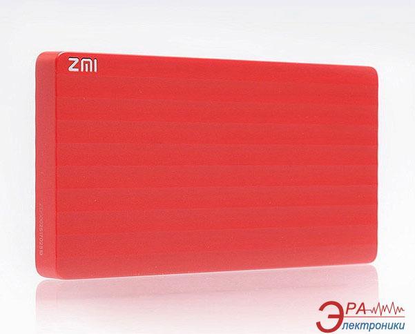 Внешний аккумулятор (PowerBank) Xiaomi ZMI Power Bank 10000 mAh Red (PB810-RD)