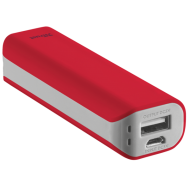 Внешний аккумулятор (PowerBank) Trust Primo Power Bank 2200 Red (21223)