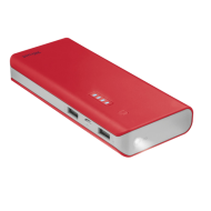 Внешний аккумулятор (PowerBank) Trust Primo 10000 Red (22073)