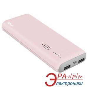 Внешний аккумулятор (PowerBank) Trust PWB-100 10000mAh Pink (22263)