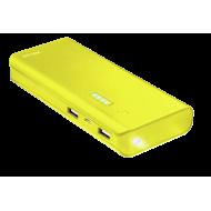 Внешний аккумулятор (PowerBank) Trust Primo 10000 mAh BLACK, Yellow (22753)