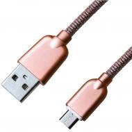 Кабель Grand-X USB - micro USB 1m Rose Gold (MM02RG)