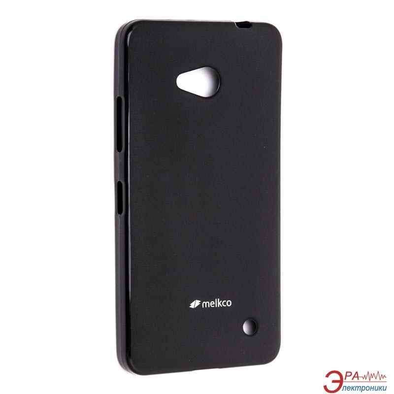 Чехол Melkco Microsoft Lumia 640 Poly Jacket TPU Black (NKL640TULT2BKMT)