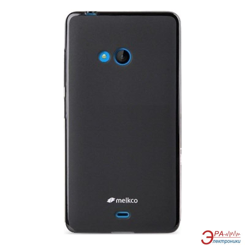 Чехол Melkco Microsoft Lumia 540 Poly Jacket TPU Black (NKL540TULT2BKMT)