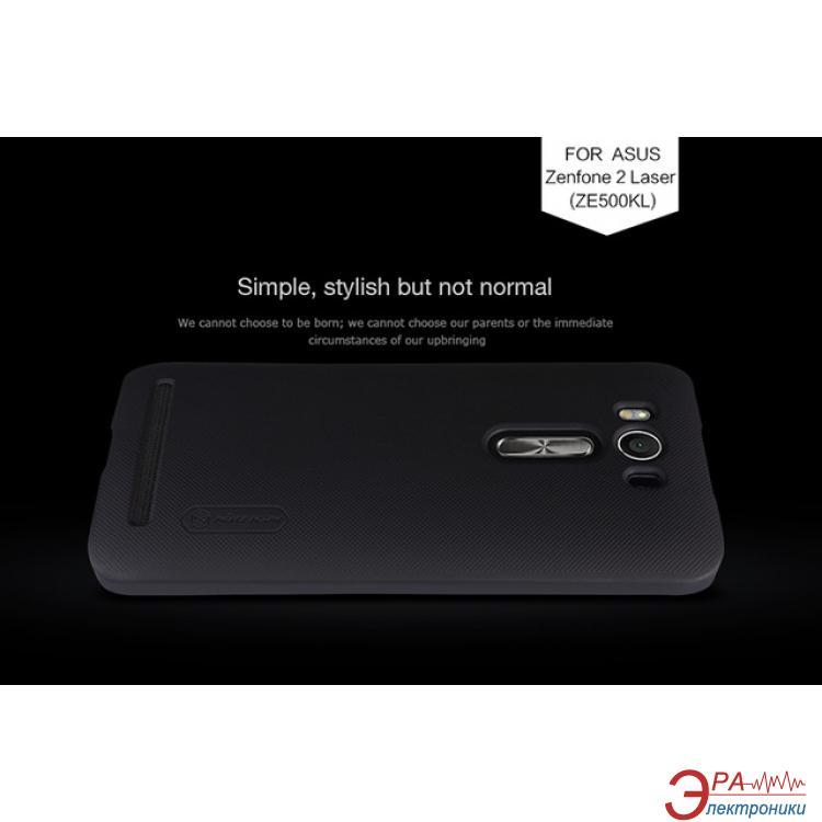 Чехол Nillkin Asus Zenfone 2 Laser ZE500KL - Super Frosted Black