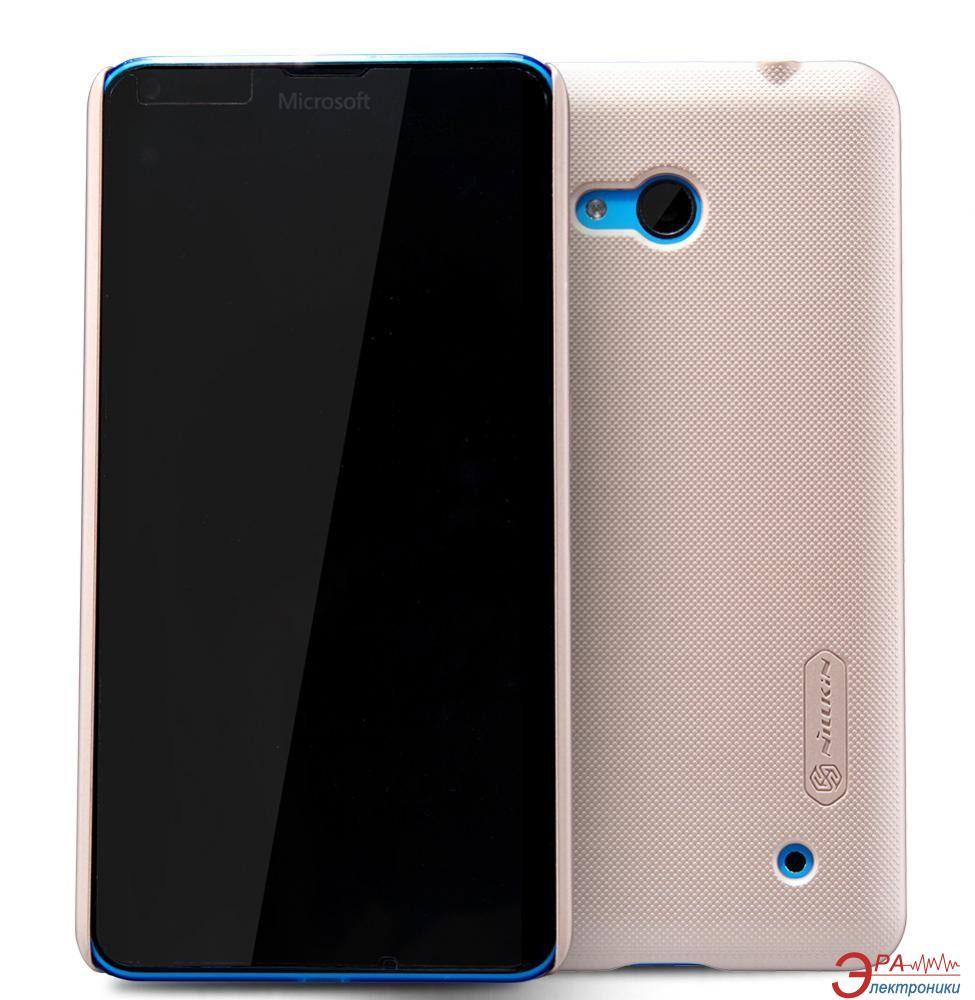 Чехол Nillkin Microsoft Lumia 640 - Super Frosted Shield Gold