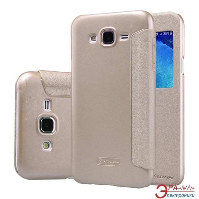 Чехол Nillkin Samsung J7/J700 - Spark series Gold