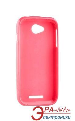 Чехол Melkco Lenovo A1000 Poly Jacket TPU Pink (LNLA10TULT2PKPL)
