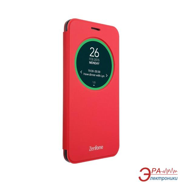 Чехол Asus View Flip Cover for ZenFone 2 ZE500KL/ZE500KG Red (90AC00G0-BCV003)
