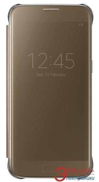 Чехол Samsung S7 - Clear View Cover (EF-ZG930CFEGRU)