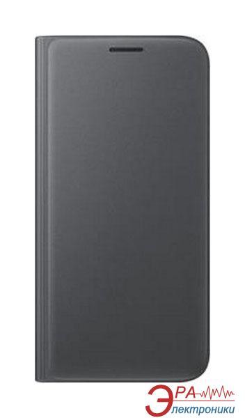 Чехол Samsung S7 edge - Flip Wallet (EF-WG935PBEGRU)