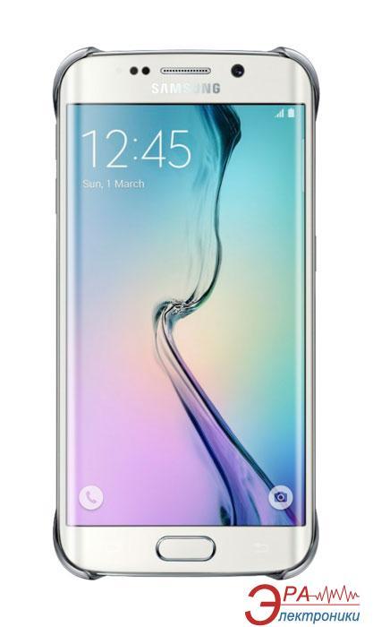 Чехол Samsung S6 Edge Silver Clear cover (EF-QG925BSEGRU)