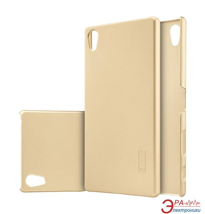 Чехол Nillkin Sony Xperia Z5 Premium - Super Frosted Shield Gold
