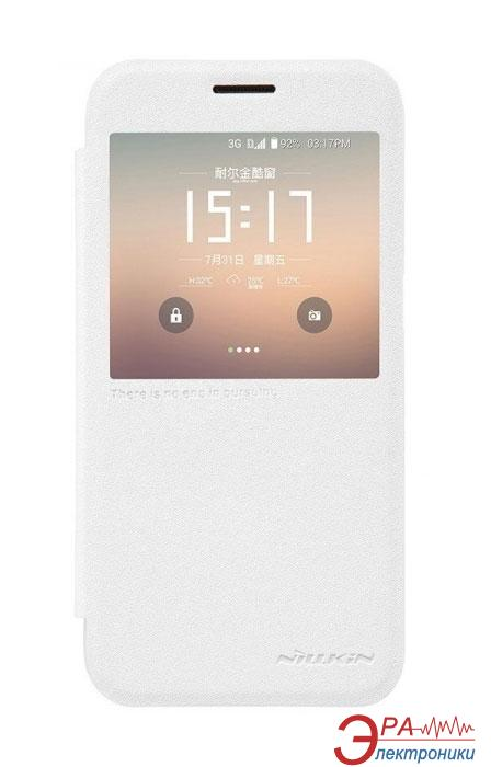 Чехол Nillkin Samsung G930/S7 Flat - Spark series White