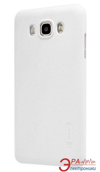 Чехол Nillkin Samsung J7 (2016)/J710 - Super Frosted Shield White