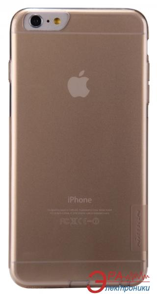 Чехол Nillkin iPhone 6+ (5`5) - Nature TPU Brown