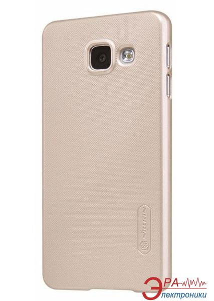 Чехол Nillkin Samsung A3/A310 - Super Frosted Shield Golden