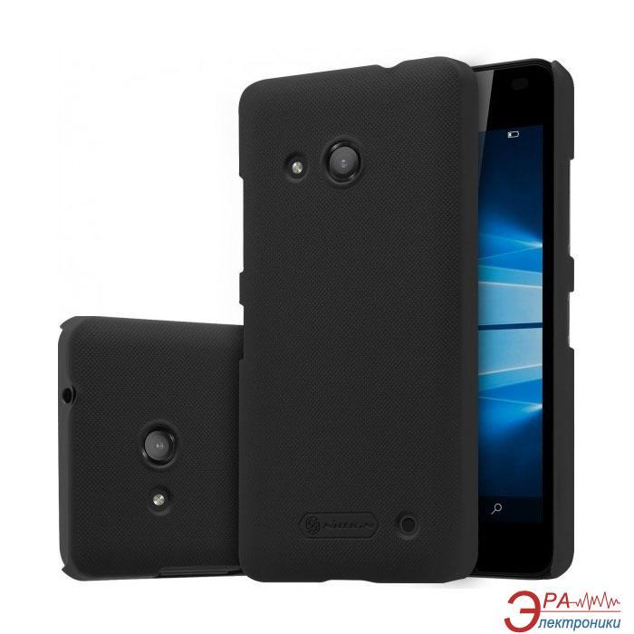 Чехол Nillkin Microsoft Lumia 550 - Super Frosted Shield Black