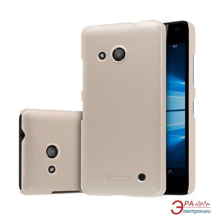 Чехол Nillkin Microsoft Lumia 550 - Super Frosted Shield Gold