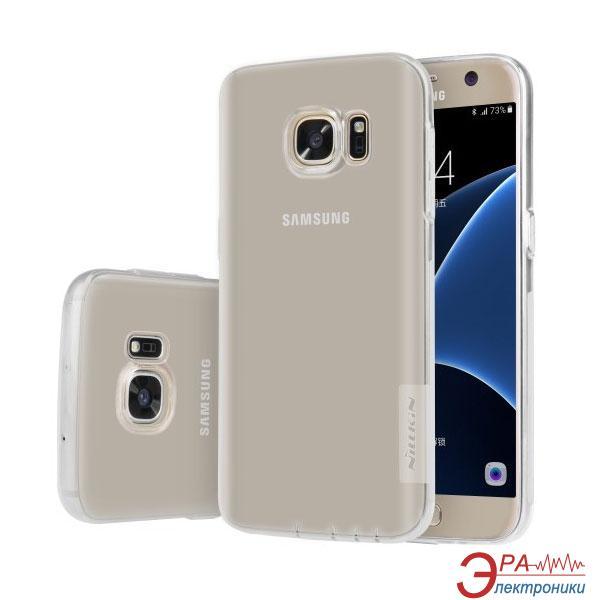 Чехол Nillkin Samsung G930/S7 Flat - Nature TPU White