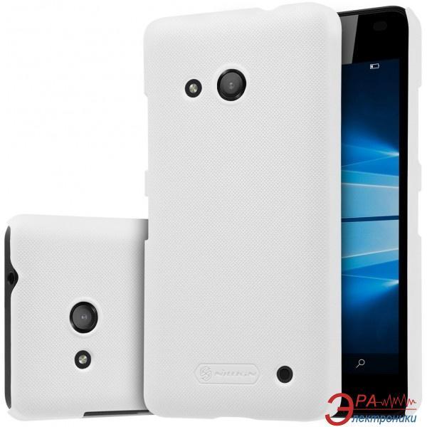 Чехол Nillkin Microsoft Lumia 550 - Super Frosted Shield White