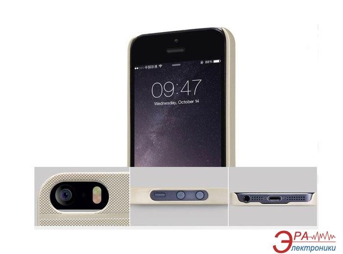 Чехол Nillkin iPhone 5se - Super Frosted Shield Golden