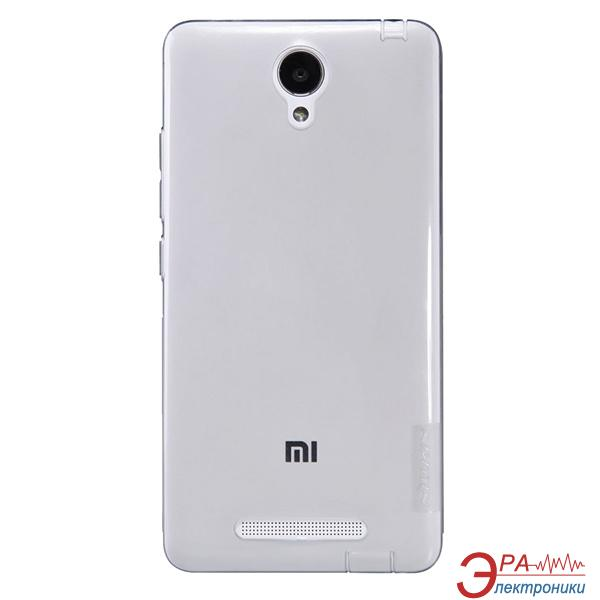 Чехол Nillkin Xiaomi Redmi note2 - Nature TPU Grey