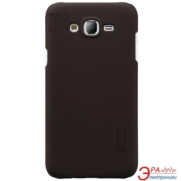 Чехол Nillkin Samsung J1(2016)/J120 - Super Frosted Shield Black