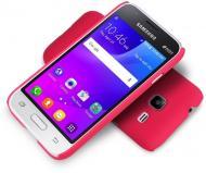 Чехол Nillkin Samsung J1 mini/J105 - Super Frosted Shield Red