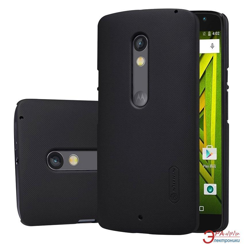 Чехол Nillkin Motorola Moto X Play - Super Frosted Shield Black