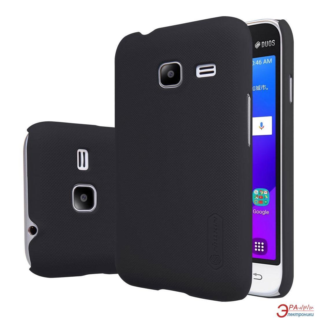 Чехол Nillkin Samsung J1 mini/J105 - Super Frosted Shield Black