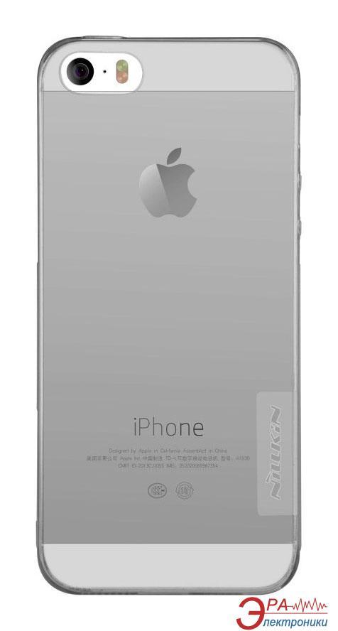 Чехол Nillkin iPhone 5se - Nature TPU Grey