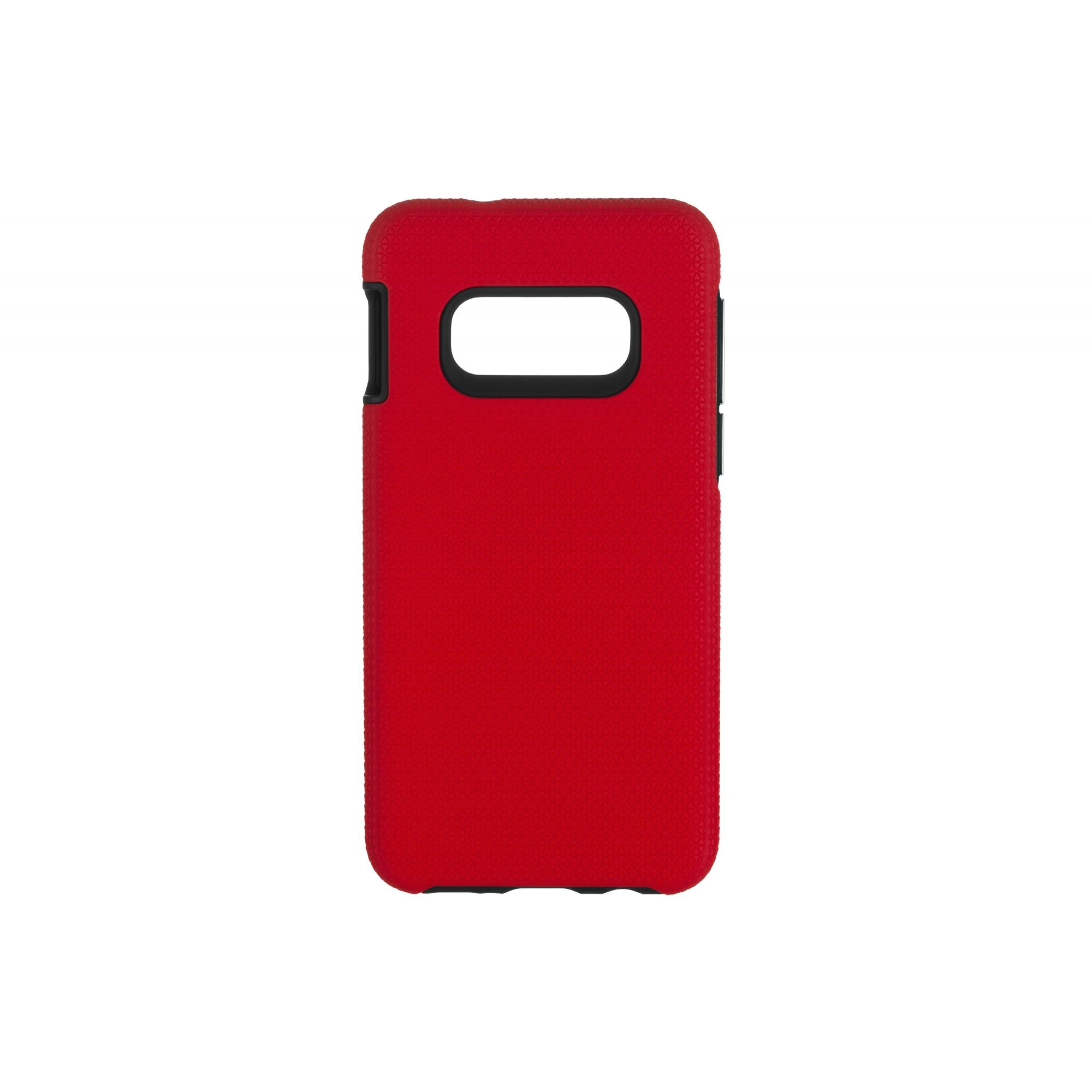 Чехол 2E for Samsung Galaxy S10 Lite, Triangle, Red (2E-G-S10L-TKTLRD)