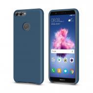 Чехол MakeFuture Silicone для Huawei P Smart Blue (MCS-HUPSBL)