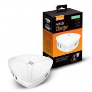 Сетевое зарядное устройство ColorWay (1USBx3A, 5USBx2.4A) QC3.0 White (CW-CHS06QW)