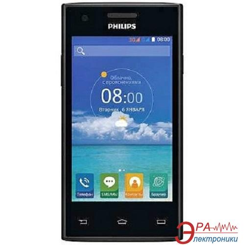 Смартфон Philips S309 Dual Black