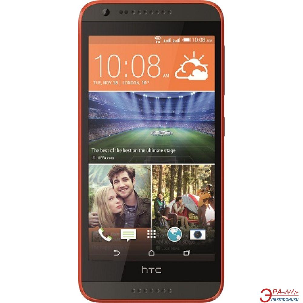 Смартфон HTC Desire 620G DS Grey-Orange